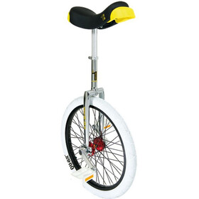 QU-AX Profi ISIS Unicycle white/silver